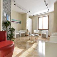 Sala d'attesa dello Studio Dentistico Barbuto - Dentista a somma lombardo